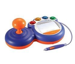 VTech VSmile Controller Blau mit Eingabestift (Search Terms - -Konsole Spiele Kinder...