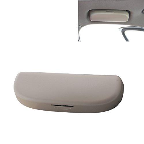 tbparts Auto Inner Front Sonnenbrille Halter Brille Fall Box für A1 A3 A4 A5 A6 A7 A8 A8L Q3 Q5 Q7 S3 S4 S5 S6 S7 S8 TTS RS4 RS5 Auto Accessories (beige)