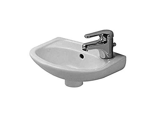 Duravit Handwaschbecken Duraplus Compact Breite 35cm pergamon WonderGliss 7973547001, 7973547001
