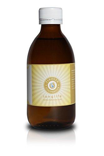 Tiroler Goldwasser, Kolloidales Gold der höchsten Qualität, Qualitätsprodukt aus Tirol , 2ppm - 250ml Flasche