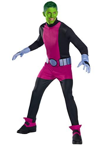 Rubie's Teen Titan Beast Boy Men's Fancy Dress Costume Medium