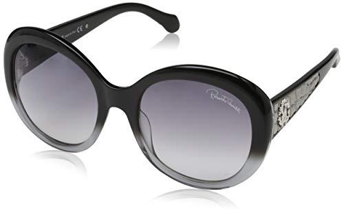 Roberto Cavalli Damen RC983S 05B 56 Sonnenbrille, Schwarz,