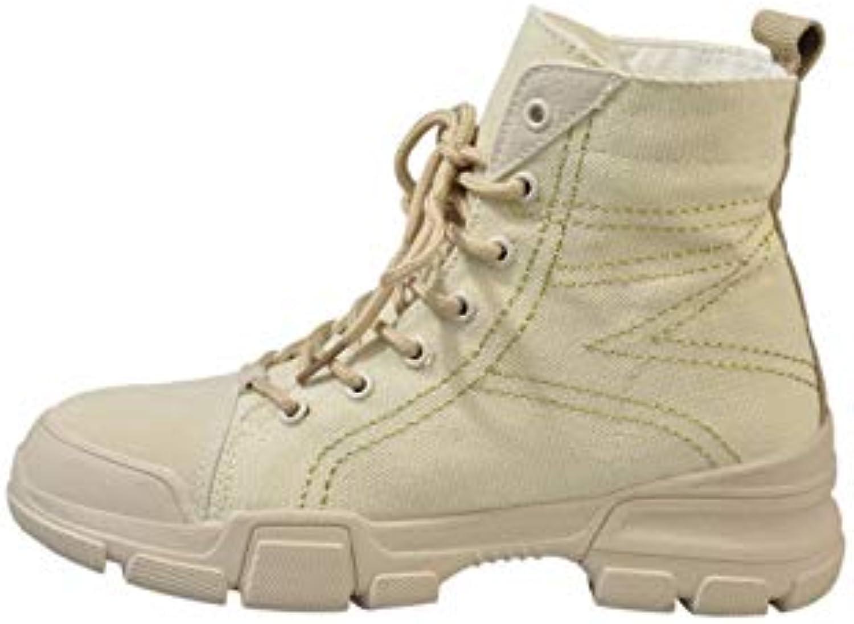 d5ca91b7661f KOKQSX-Martin boots women s boots retro joker locomotive boots boots boots  middle and 4CM B07H3Q89HN Parent 00303b