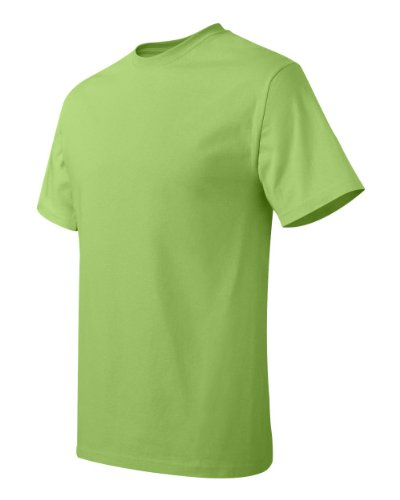 Hanes Comfort Blend Cotton Poly T-Shirt Lime