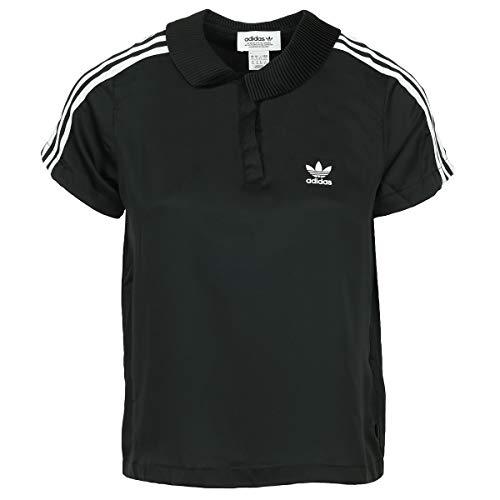 adidas 3str Tennis-Shirt, Damen S - 3str Adidas Tennis Polo