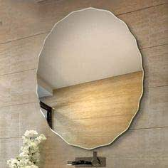 Quality Glass Glass Wall Mirror (Silver, 24 X 24 Inch)