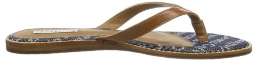 Calvin Klein Jeans MARIE DENIM JACQUARD/SHINY BUF RE8932 Damen Slipper Mehrfarbig (MDA)