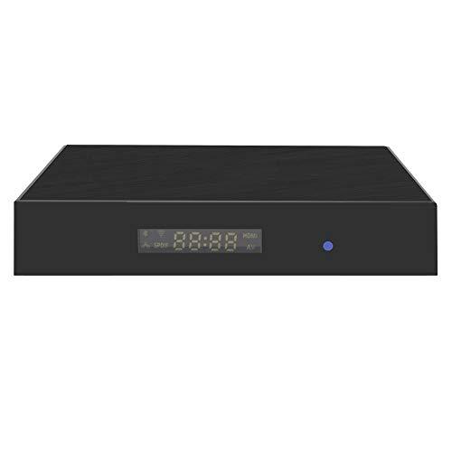 Denash Android TV Box - 3 + 32 G Smart HD STB Set-Top-Box mit 8-Kern-Hochleistungs-CPU und T820-GPU(EU-Stecker)