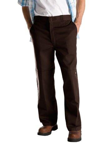 Dickies Double Knee Work - Pantalon - Droit - Homme brown