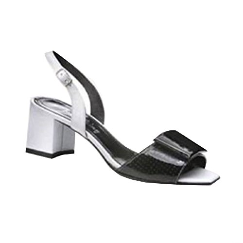 IAW Sandalette schwarz, Sandales pour femme Noir - Noir
