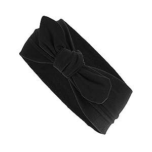 Harrys-Collection Damen Mädchen Haarband Schleife 10 Unifarben