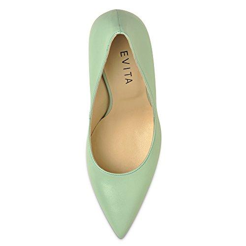 Evita Shoes, Scarpe col tacco donna Verde (Menta)