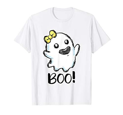 Kostüm Spuk Geist - Boo Geist Halloween Kostüm kleines Gespenst Spuk T-Shirt