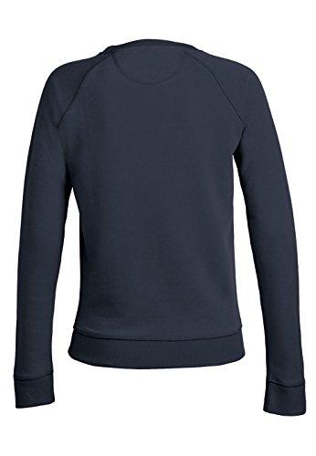 Royal Shirt sweat basique à col rond avec manches raglan pour femmes Navy