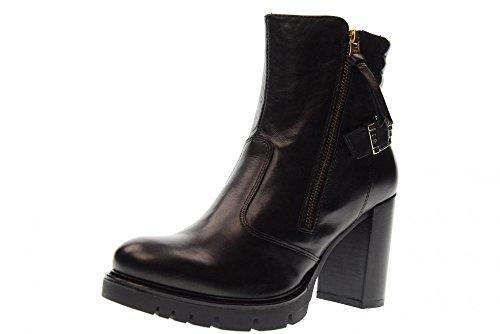 NERO GIARDINI bottes chaussures à talons A719913D / 100 black