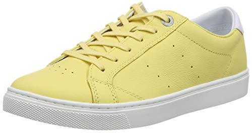 Tommy Hilfiger Damen POP Color City Sneaker, Gelb (Golden Haze 731), 40 EU
