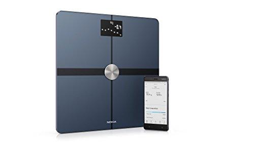 Nokia Body+ - WLAN-Körperwaage für Körperzusammensetzung (Küche-fernseher Smart)