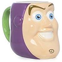Disney Toy Story Buzz Lightyear PERSONAJE Animada 3d Face Taza