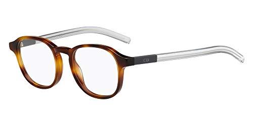 Dior Homme Brillen Für Mann BLACKTIE214 MWA, Tortoise / Crystal Kunststoffgestell, 51mm