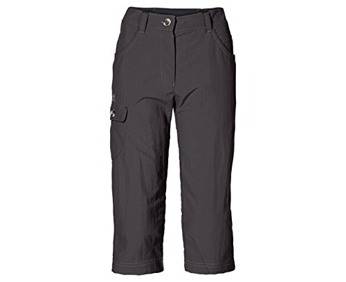 Jack Wolfskin Damen Hose Atacama 3/4 Pants Women Dark Steel_1038