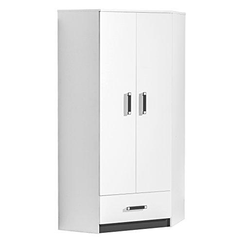 Smartbett - armadio angolare con 2 ante e 1 cassetto, colori assortiti
