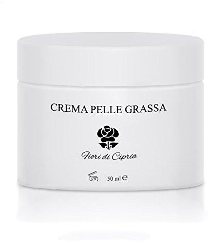 La Miglior CREMA PELLE GRASSA O MISTA - Conferisce al viso un immediato effetto anti-lucido che dura per l'intera giornata. Purifica l'epidermide ed elimina gli inestetismi tipici delle pelli miste e grasse - Ingredienti di Altissima Qualità - Prodotto Professionale (Centri Estetici o Farmacie) - Prodotto in Italia - 50 ml - Fiori di Cipria