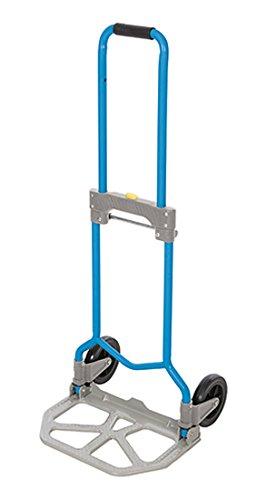 Silverline Stahl-Sackkarre, zusammenklappbar, 1 Stück, blau, 872993