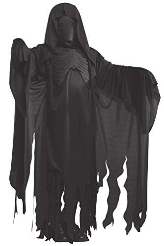 Rubie 's Erwachsenen 's Offizielle Harry Potter Dementor Maske und Robe Kostüm-Standard Größe, schwarz
