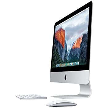"Apple iMac - Ordenador de 21.5"" (FullHD, Intel i5, 8 GB RAM, 1 TB HDD, teclado QWERTY español), color blanco"