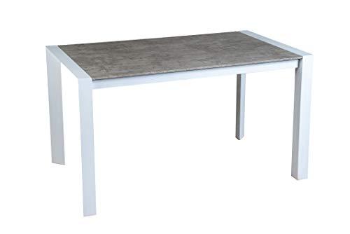 Tavolo moderno allungabile in Legno e Metallo da Cucina, Sala Pranzo ...