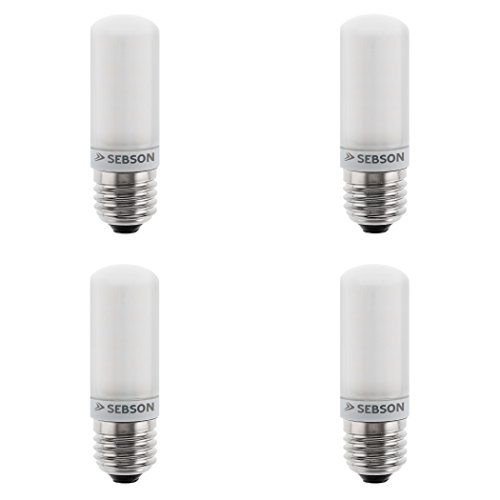 SEBSON LED Lampe E27 warmweiß 4W, ersetzt 40W Glühlampe, 400 Lumen, LED Leuchtmittel 160°, 4er Pack 160 Lumen Led