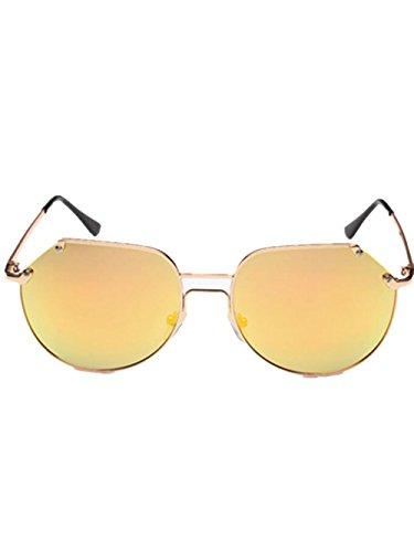 GZD tailler les lunettes polarisées classiques yourte mâle et femelle Gold