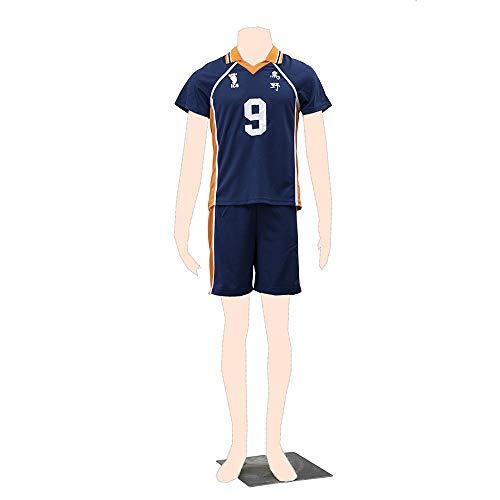Dream2Reality Haikyu!! Cosplay Kostuem Karasuno Jersey 9 Kid - Dream2reality Kostüm