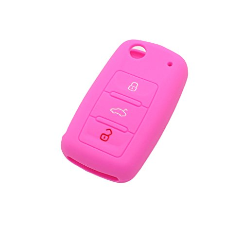fassport-silicone-cover-skin-jacket-fit-for-volkswagen-seat-skoda-3-button-flip-remote-key-cv9800-pi