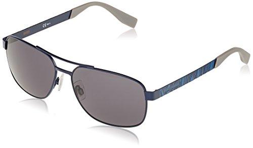 Boss orange bo 0285/s ir pjp, occhiali da sole uomo, blu grey bluee, 59