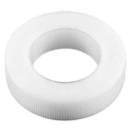 Noradtjcca 1 Rolle 1.25X9m Pro White Eyelashes Extension Wickelband-Set für falsche Wimpern