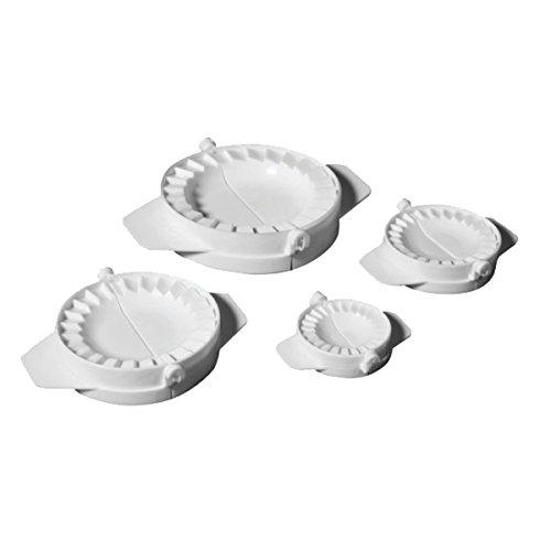 Ibili 4er-Set Apfeltaschen-Backform aus hochwertigem Kunststoff