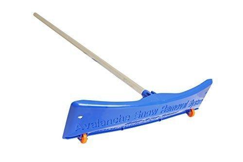 Avalanche! SRD20 Schneerechen Deluxe 20 mit 61 cm breitem Rechenkopf und einem 7,3m langem leichtem Schnellverbindungsgriff aus Aluminium