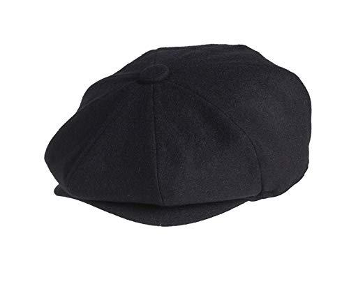 Peaky Blinders - Boina - Hombre Negro Negro L 59 cm