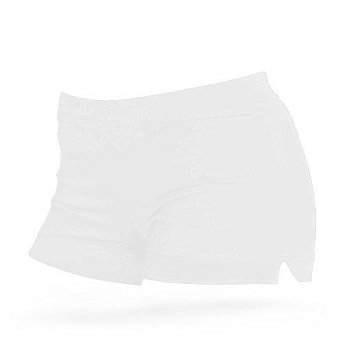 Shepa Damen kurze Fitness Shorts Hot Pants Hose XS weiss