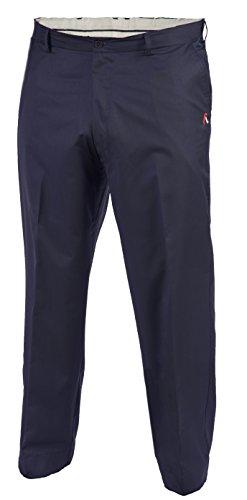 Aveo Golf Hose Big & Tall Flat Front, Herren, blau, 42x36 Flat-front-hose