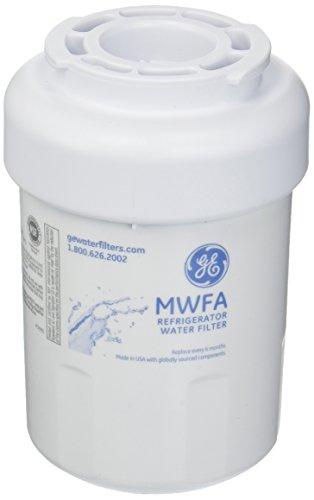 GE MWFA Kühlschrank-Wasserfilter, Standard, Weiß (Kühlschrank Mwf Ge Wasserfilter)
