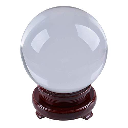 Bola de cristal K9 Longwin de 150mm, transparente, con soporte girat