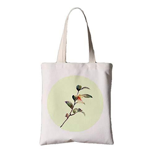 fonxoy-Storage bag Wiederverwendbare Faltende Einkaufstasche Reisetasche Einkaufstüten Totes Vintage Chinesische Feng Shui Stofftasche Weibliche Schulter Tragbare Einkaufstasche Cyan