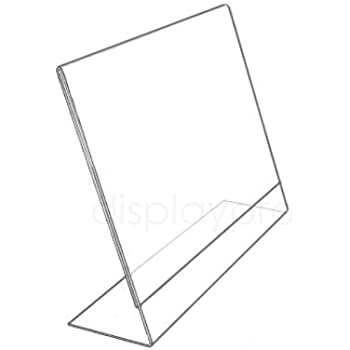 poster size 210x297 mm a4 portrait picturehangingdirect co uk l shaped acrylic poster menu holder perspex