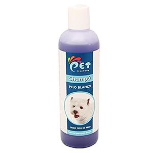 BPS® für weiß Haar Shampoo, Shampoo für alle Haartypen und Shampoo für Hunde, Shampoo für Hund, Welpe, Tiere psp-50007