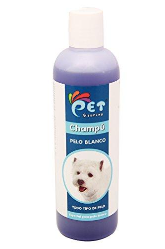 BPS® Champú para Pelo Blanco, Champú para Todo Tipo de Pelo y Champú para Perros, Shampoo para Perro, Cachorro, Animales Domésticos PSP-50007