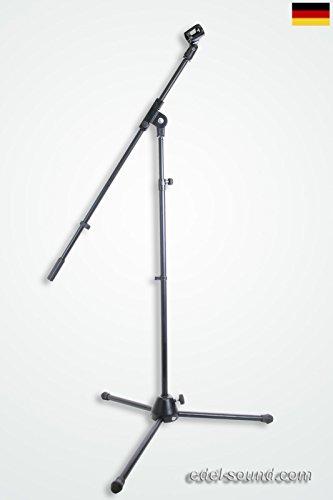 Mikrofonständer mit Schwenkarm +Klemme Galgen Stativ Mikro Stand Studio