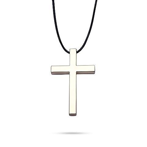 EFORCAR 1pcs Auto-Rückspiegel Dekoration Kreuz Religion Glaube Auto-Charme hängende Zubehör Auto
