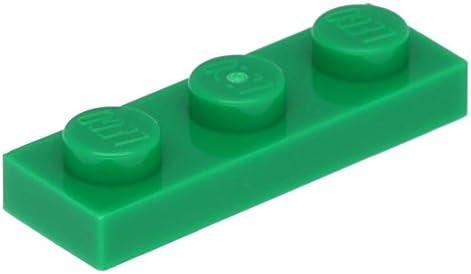 Lego Plate 10 x Plate Lego 1 x 3 Green B0733DZWB1 049ade